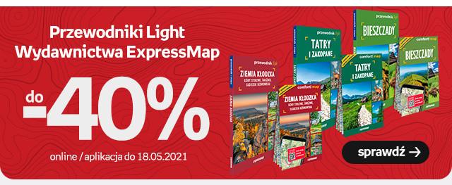 Przewodniki Light Wydawnictwa ExpressMap w promocji