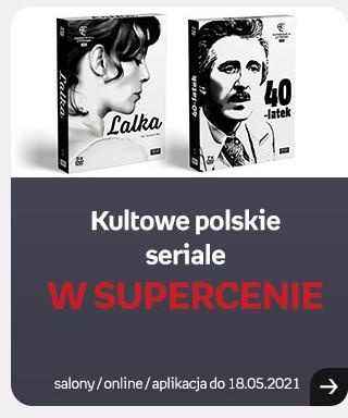 Kultowe polskie seriale w supercenie