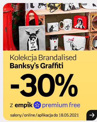 Kolekcja Brandalised Banksy's Graffiti w promocji